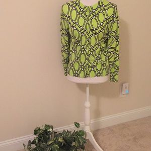 Crown & Ivy lime green cardigan